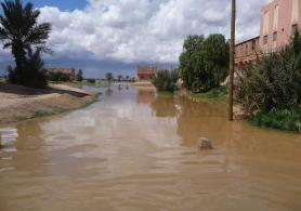 Flood in Morocco's Tafilalet Valley